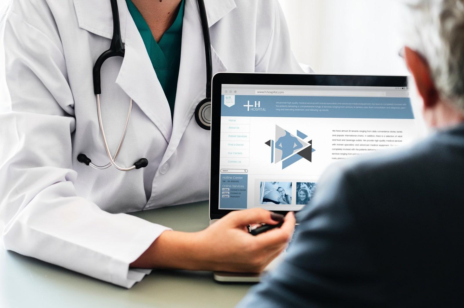 Zahnarzt Arzt Online Marketing